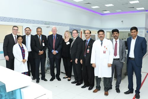 High-Level Delegation from CAP Visits Thumbay Labs' Central Reference Laboratory