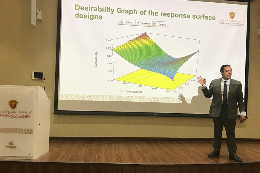Pharmaceutical Experiments Using Design Expert Software Gulf Medical University