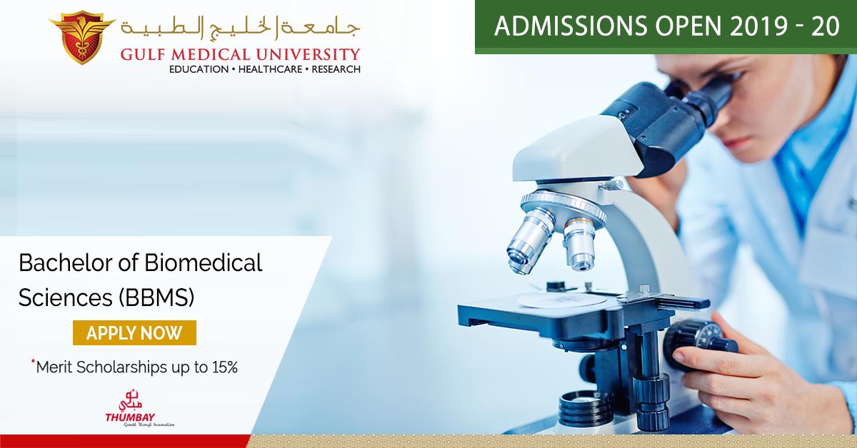 Bachelor of Biomedical Science program (BBMS) | Gulf Medical