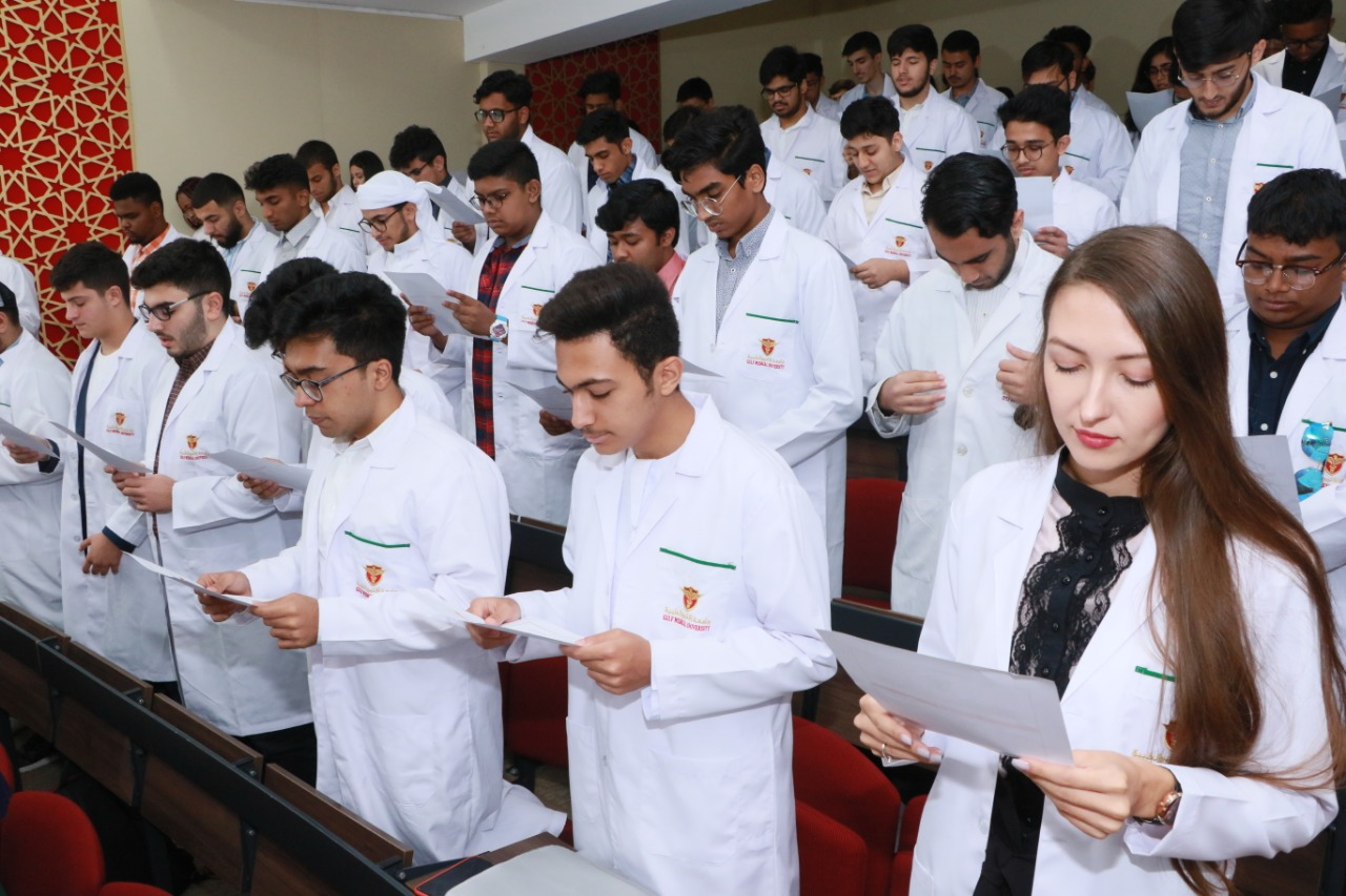 Gulf Medical University's White Coat Ceremony