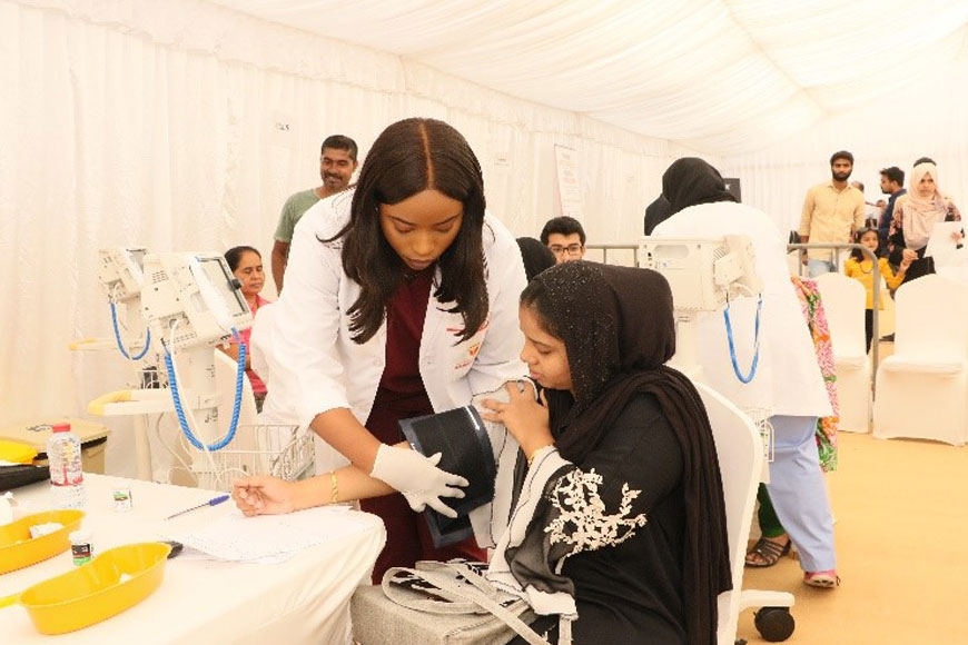 Health Carnival Gulf Medical University